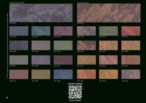 краска для стен с эффектом перламутра